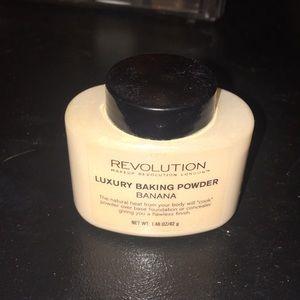 Makeup revolution banana baking powder